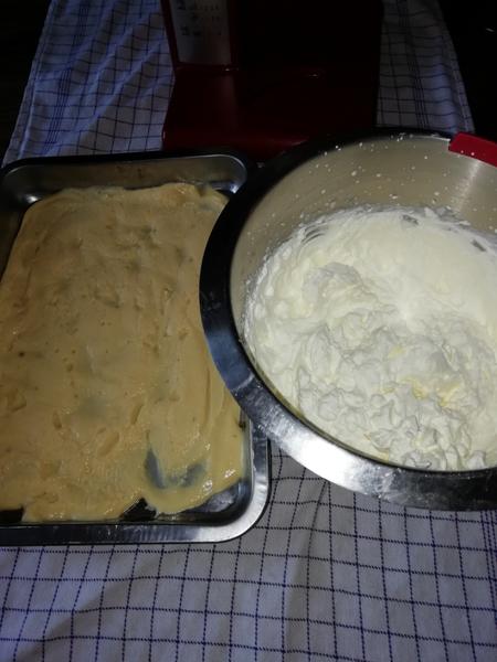 Le gâteau pour annoncer votre grossesse en douceur -Le montage du gâteau