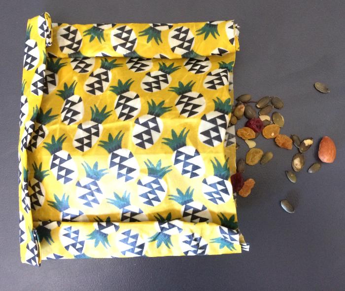 DIY Emballages réutilisables à la cire d'abeille-Utiliser cette emballage