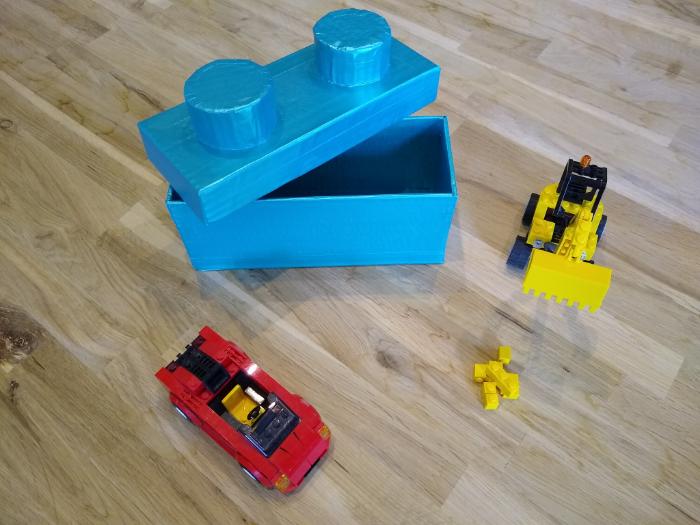 Boîte type Lego-Finition: