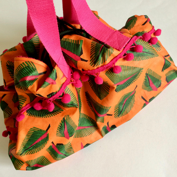 Coudre un sac pieds-secs-Profitez de votre sac pieds-secs !