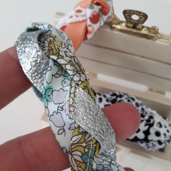 Mon petit bracelet simple, rapide .. et unique !-Votre bracelet est terminé !