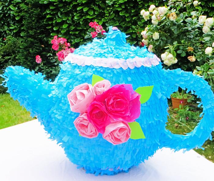 Thé piñata party -Préparer la Tea Party