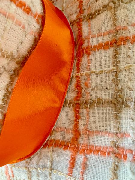Chapeau de plage-Le ruban (couture bas)