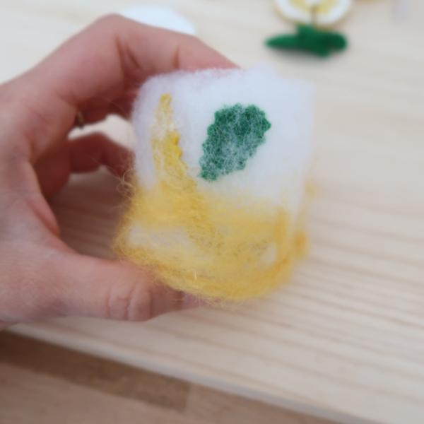 Limonade en feutrine pour jouer à la dînette-Création de l'eau gazeuse citronnée pour la limonade