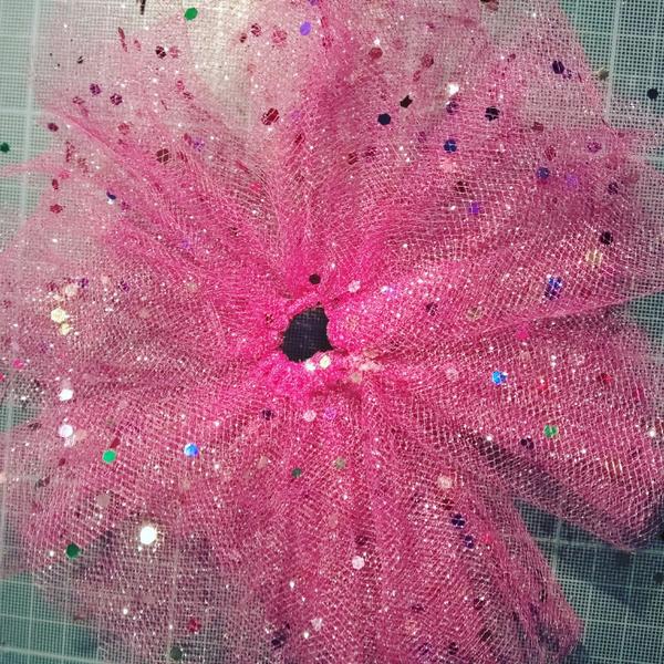 La robe de princesse-Fabriquer le jupon
