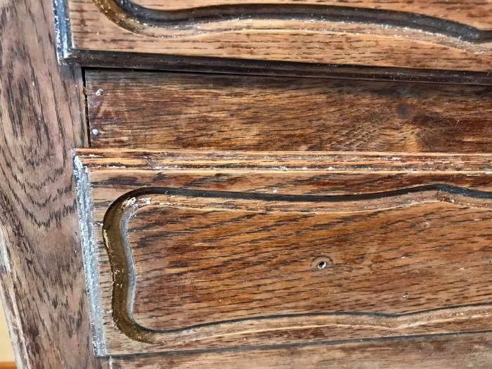 Renovation d'un vieux meuble-