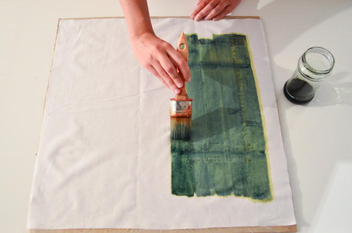Impressions solaires sur tissu-La méthode du cyanotype