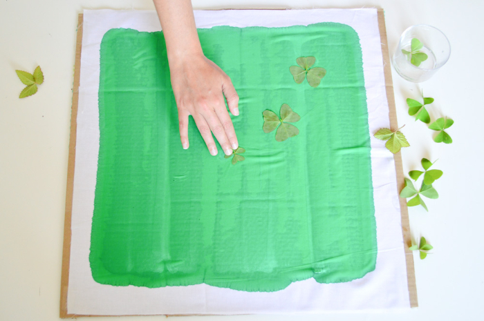 Impressions solaires sur tissu-La méthode de la peinture textile