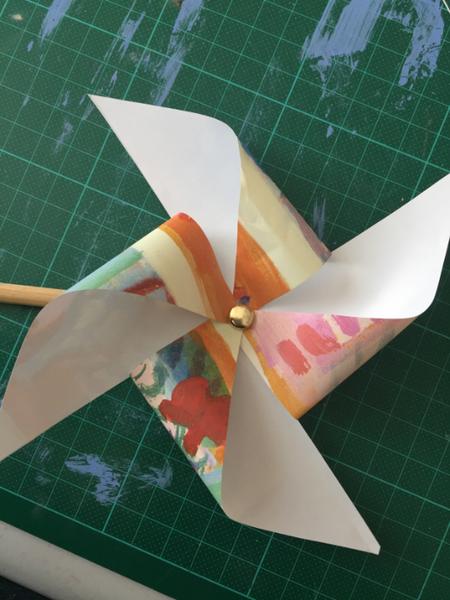 Jizo Protecteur des enfants-Le moulin à vent