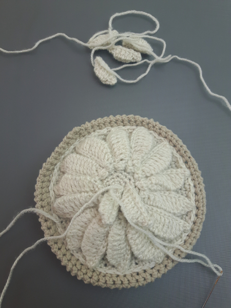 DiY : Tarte aux Pommes au crochet Made in Normandie-On termine ! (Finitions)