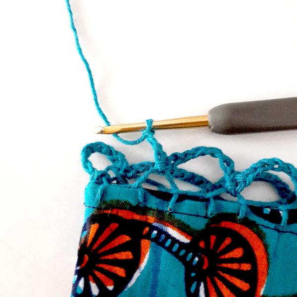 Petit Sac Filet pour le Marché-Crocheter le filet