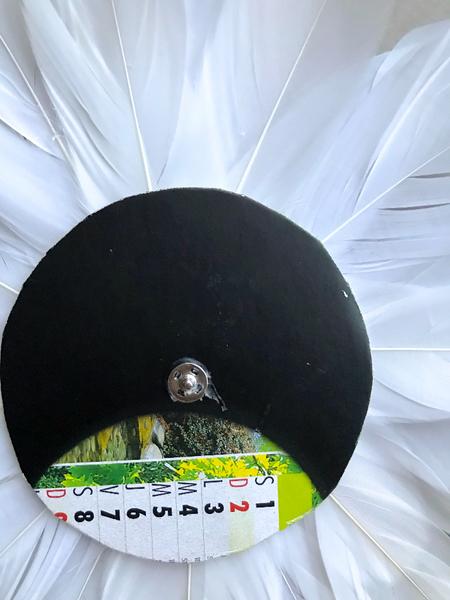 un panier façon Juju Hat interchangeable -Fixez votre jolie décoration sur votre panier