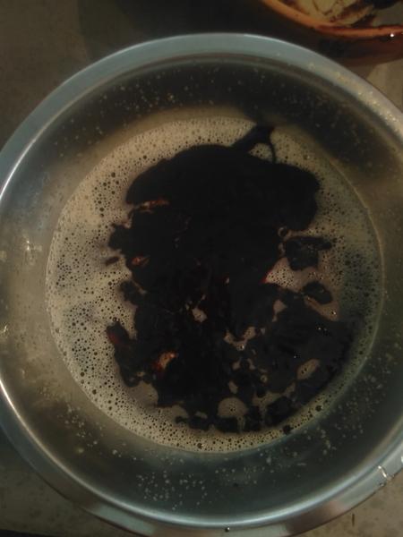 Gâteau moelleux au chocolat-Mélanger le tout