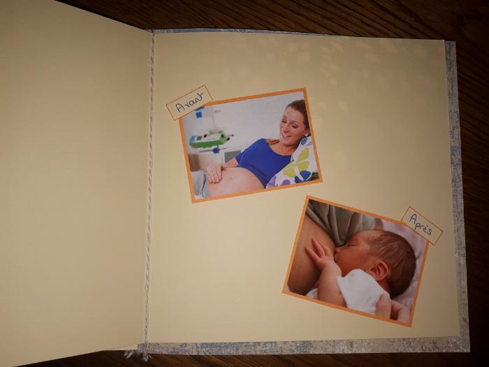 Mon journal de grossesse (my pregnant diary)-Etape 2 : Embellissements
