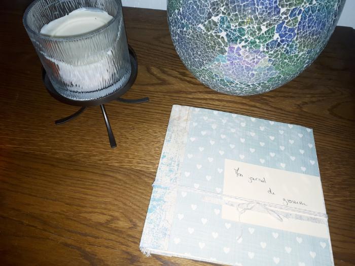 Mon journal de grossesse (my pregnant diary)-Etape 4 : Assemblage du carnet