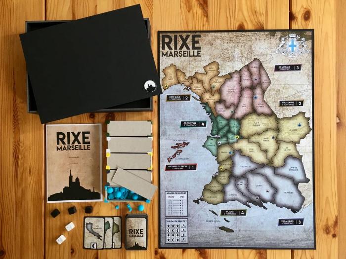 Comment faire son propre jeu de société comme un pro (Rixe Marseille)-Aperçu et explications