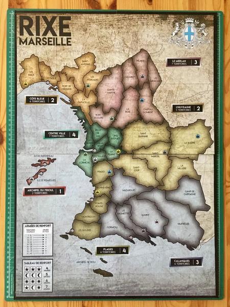 Comment faire son propre jeu de société comme un pro (Rixe Marseille)-Le plateau