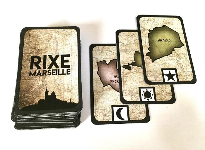 Comment faire son propre jeu de société comme un pro (Rixe Marseille)-Les cartes