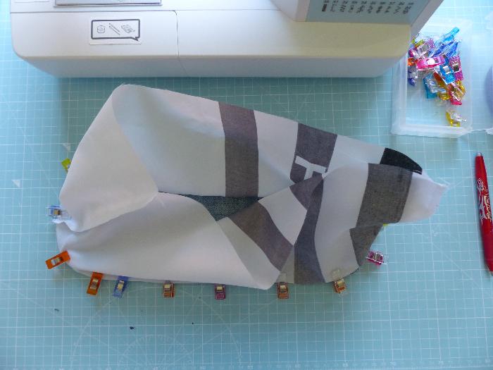 Surchaussures lavables-Couture du corps à la semelle
