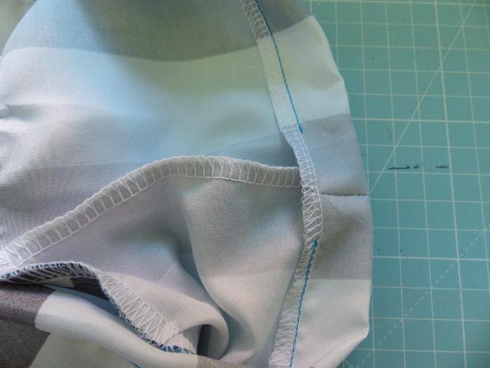 Surchaussures lavables-Couture de la coulisse