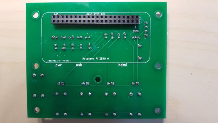Clignodroid-Circuit électonique