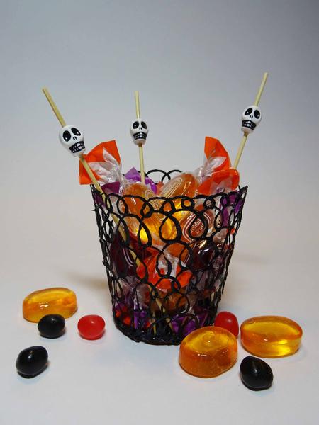 Petit verre au stylo 3D à la mode d'Halloween-