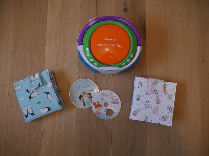 Pochette à CD Maya-C'est terminé !