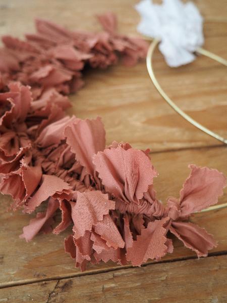 Pour un Noël durable (et girly): les couronnes de fête-Nouage