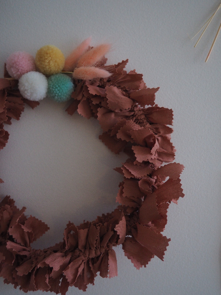 Pour un Noël durable (et girly): les couronnes de fête-Décoration
