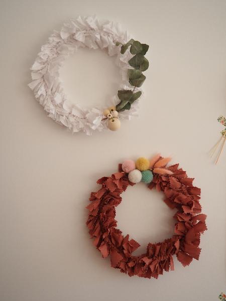 Pour un Noël durable (et girly): les couronnes de fête-Et voilà!