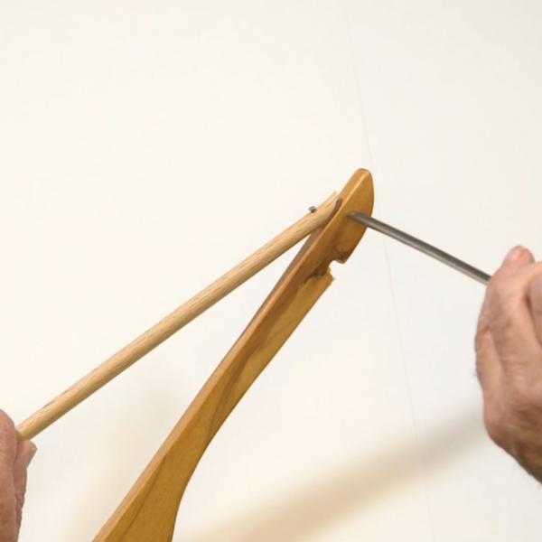 Un Sapin de Noël réutilisable avec des cintres-Préparer les cintres