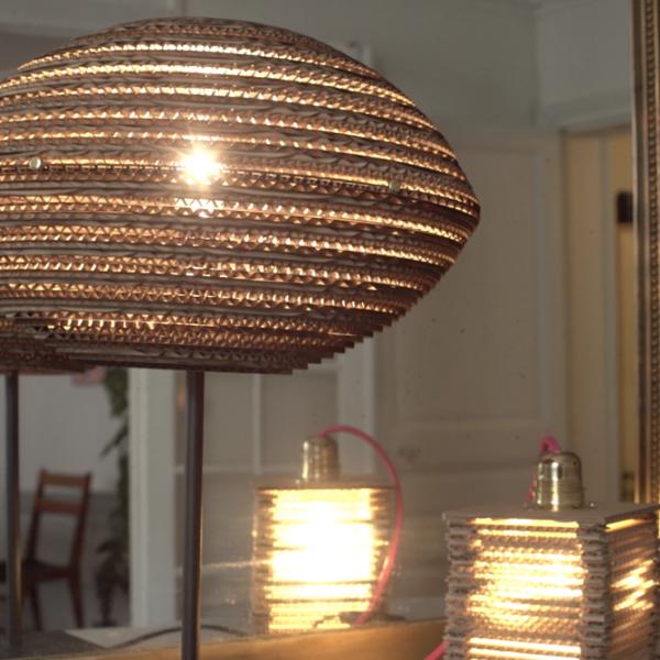 Fabriquer un lampion en carton-Brancher et allumer !