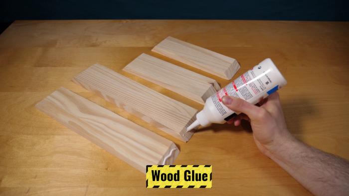 Cadre Lumineux 3D en Papier-Cadre en bois