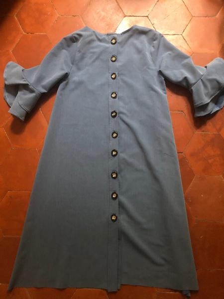 DIY robe trapèze à manches volantées d'inspiration sézane (facile et sans patron)-