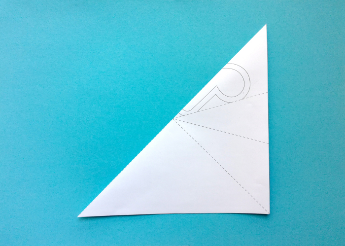 Décoration en papier-Plier la feuille