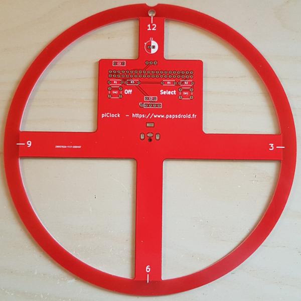 piClock: une horloge fabuleusement animée et colorée - DIY-Circuit électronique