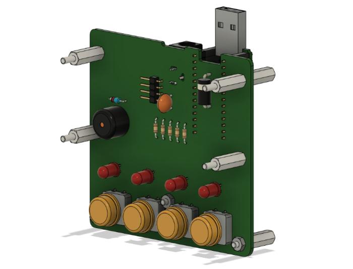 Un boîtier en impression 3D pour le projet #OuiAreSins-Création du modèle