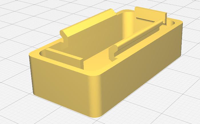 Un boîtier en impression 3D pour le projet #OuiAreSins-Tester les clips du boîtier