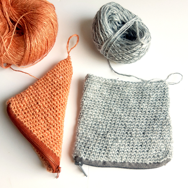 Crochet nomade : le berlingot-Crocheter la trousse