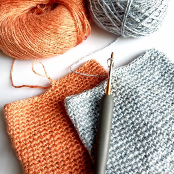 Crochet nomade : le berlingot-Fermer le berlingot