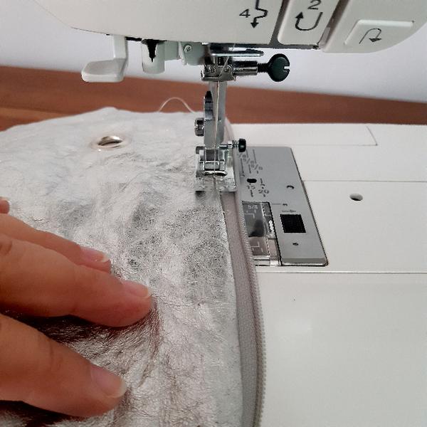 Sac Berlingot pour crochet (ou tricot) vagabond-Coudre la fermeture éclair