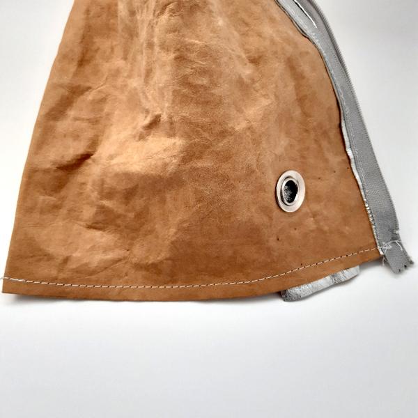 Sac Berlingot pour crochet (ou tricot) vagabond-Fermer le haut du berlingot et placer la anse