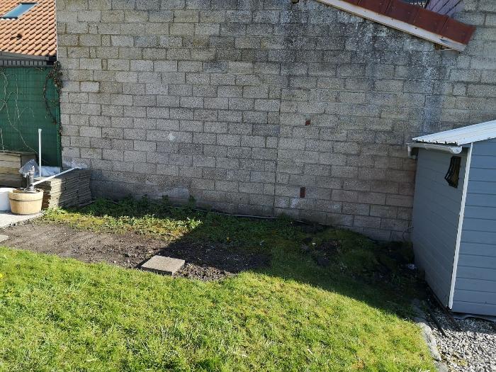 Terrasse pour SPA gonflable, avec couvercle motorisé-Préparation du terrain