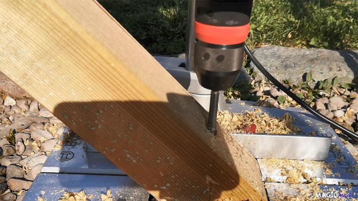 Terrasse pour SPA gonflable, avec couvercle motorisé-Renforts