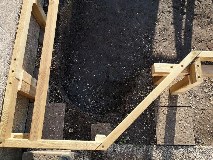Terrasse pour SPA gonflable, avec couvercle motorisé-Rectification