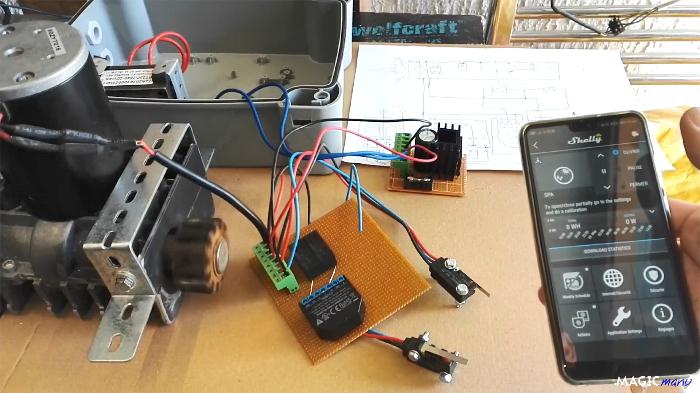 Terrasse pour SPA gonflable, avec couvercle motorisé-Partie électronique