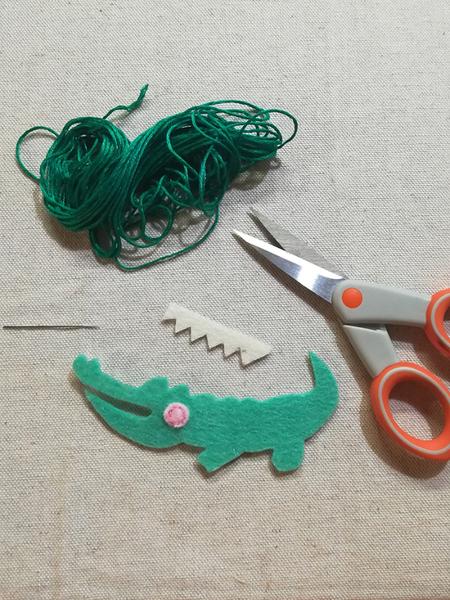 Fabriquer un patch pour pantalon troué-Préparation du motif