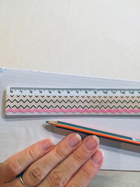 Tissage mural en récup-Création du métier à tisser