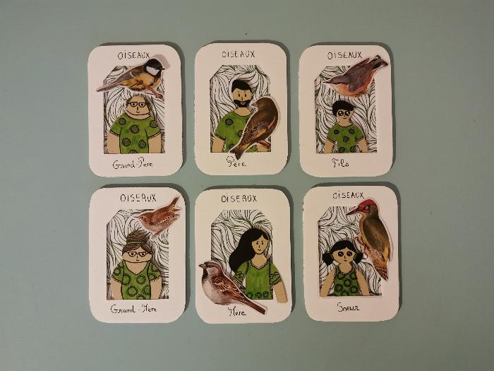 Jeu des 7 familles nomade-Etape 7 : La Famille des Pêcheurs