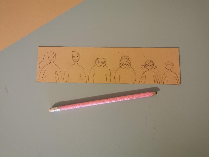 Jeu des 7 familles nomade-Etape 6 : Les personnages